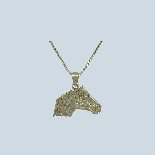Colar Cabeça de Cavalo Crioulo