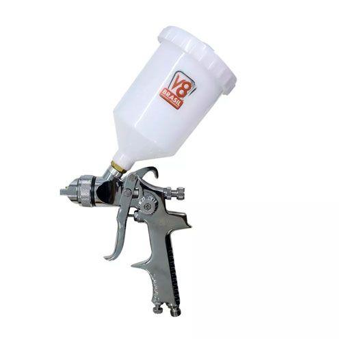 Pistola de Pintura HVLP 8 Plus 600ml V8 Brasil
