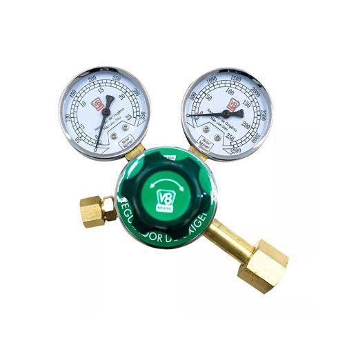Regulador de Pressão Oxigênio V8 Brasil
