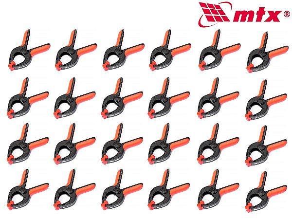 Grampo Plastico Multiuso para Marceneiro 4 Pol. 24 pçs MTX