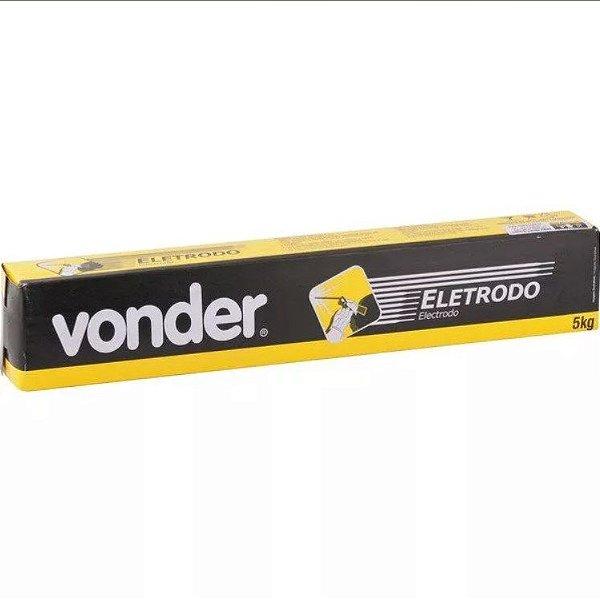 Eletrodo para Solda Elétrica 2,50mm 60.13 5Kg Vonder