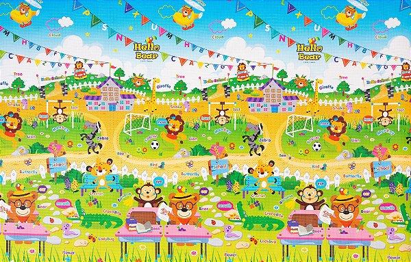 Tapete Infantil Parklon Premium PVC School 190cm x 130cm x 1,2cm