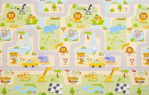 Tapete Infantil Parklon PVC Smile Town 190cm x 130cm x 1,2cm