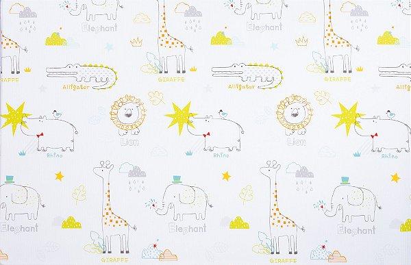 Tapete Infantil Parklon Premium PVC Art Deco 190cm x 130cm x 1,2cm