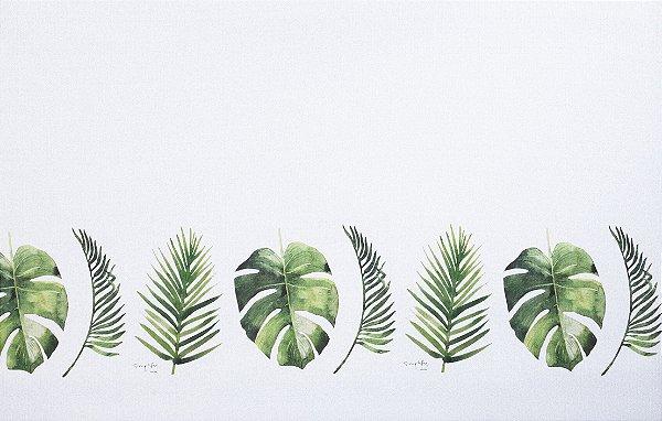Tapete Decoração Parklon PVC Botânico 190cm x 130cm x 1,2cm