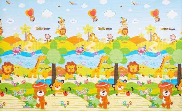 Tapete Infantil Parklon PVC Jungle 210cm x 140cm x 1,5cm