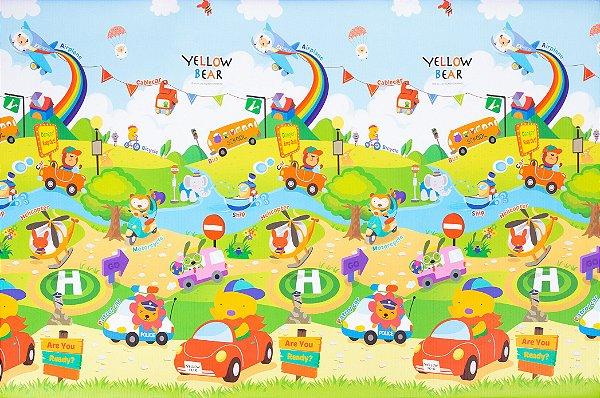 Tapete Infantil Parklon PVC Aerado Car 190cm x 130cm x 4cm