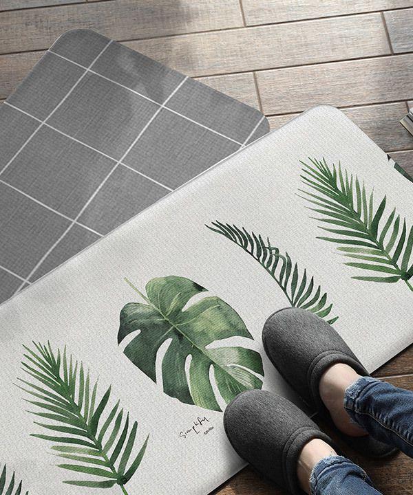 Tapete Multiuso Parklon Premium PVC Botânico 95cm x 44cm x 1,5cm