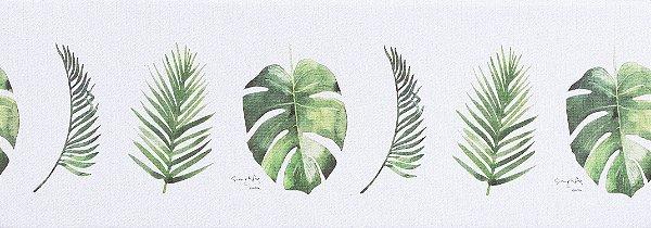 Tapete Cozinha Parklon PVC Botânico 120cm x 44cm x 1,5cm