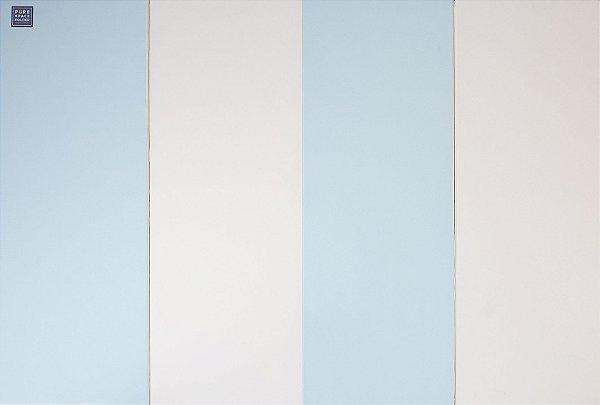 Colchonete de Atividades Parklon 4 Placas Azul / Branco 200cm x 140cm x 4cm