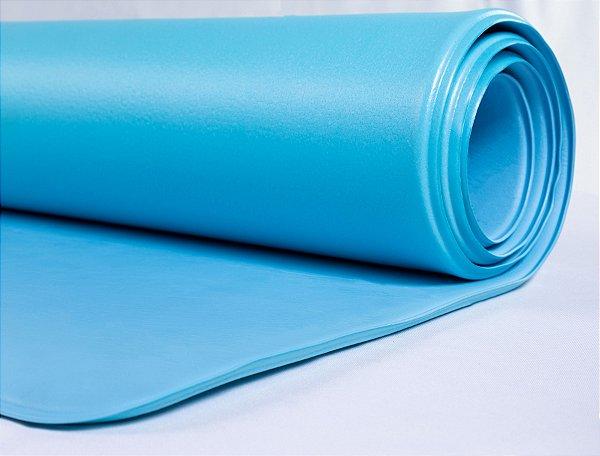 Tapete Yoga Parklon PVC Azul 180cm x 65cm x 0,6cm