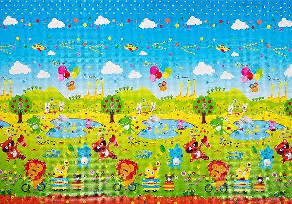 Tapete Infantil Proby PE Fun Animal 250cm x 180cm x 1,7cm