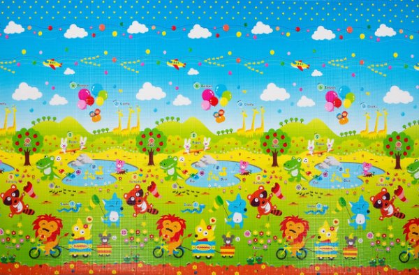 Tapete Infantil Proby PE Fun Animal 270cm x 180cm x 1,7cm