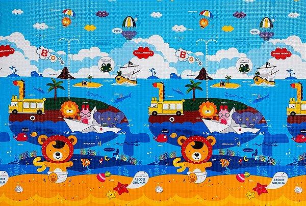 Tapete Infantil Proby PE Animal Friends 230cm x 150cm x 1,2cm