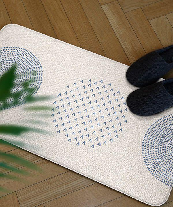Tapete Multiuso Parklon Premium PVC Blue Spot 95 cm x 44 cm x 1,2cm
