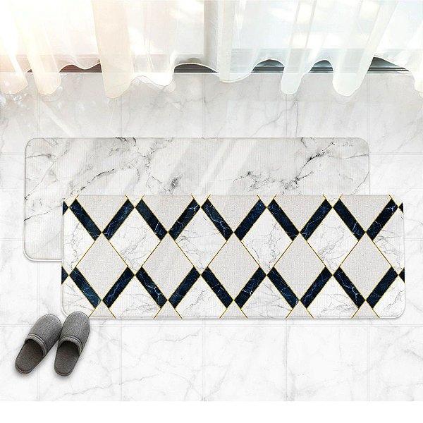 Tapete Multiuso Dupla Face Parklon PVC Premium Royal Blue 95cm x 44 cm x 1,5cm