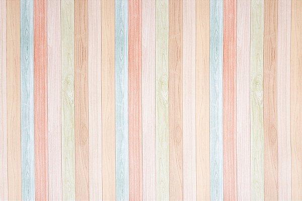 Tapete Decoração Parklon Premium PVC Color Wood 190cm x 130cm x 1,2cm