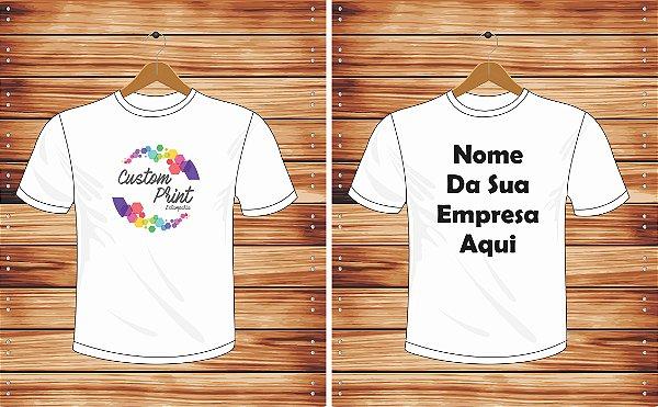 Camiseta Personalizada em Silk-Screen - Custom Print Estamparia e50e5dc9acf6b