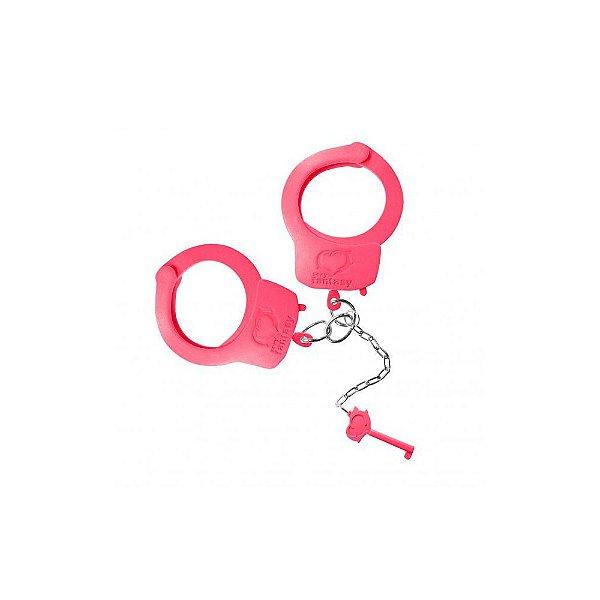 Algemas de Metal - Rosa Neon - Fetiche Sado