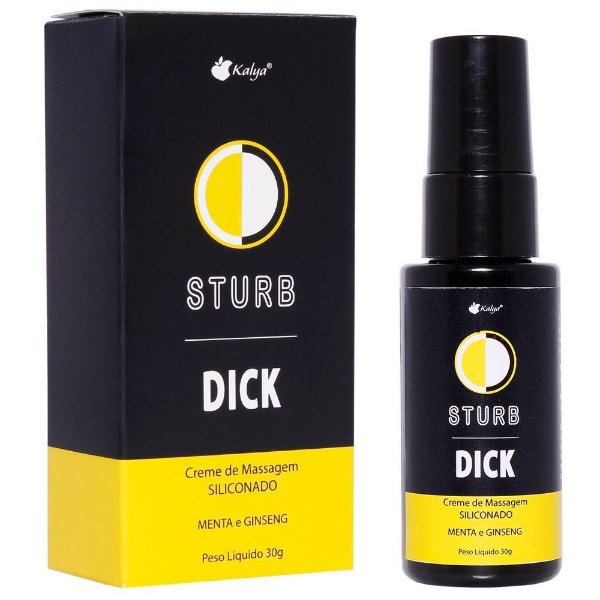 Creme Siliconado Masculino para Masturbação Sturb Dick Hot 30g