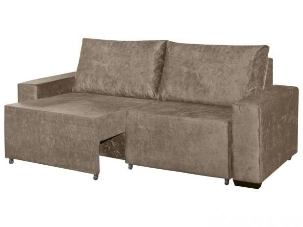 Estofado com assentos retrateis e almofadas soltas 2,10 mt
