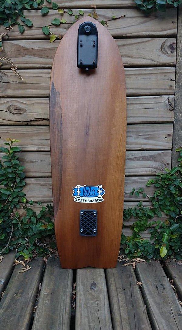 KIT SURFSKATE SHAPE + BASE SIMULADOR DE SURF LELOSKATEBOARDS