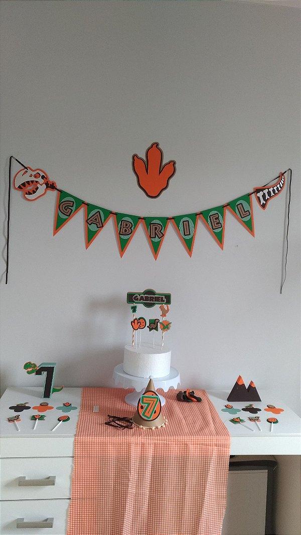 Tema Dinossauro - Decorversário Box