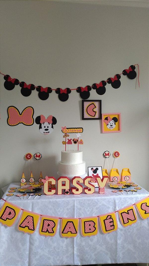 Tema Minnie - Decor Box P