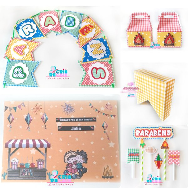 School Decor Box (Festa na Escola)