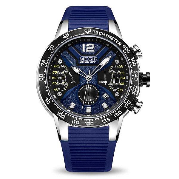 Relógio Esporte Pulseira de Silicone MEGIR 2106