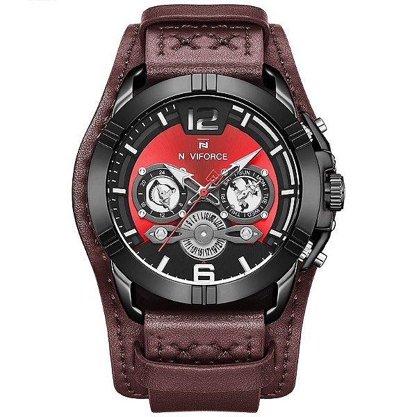 Relógio Militar Esporte Naviforce NF9162BRB