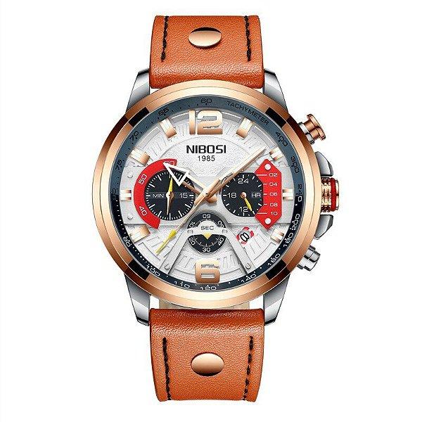 Relógio Nibosi 2373 Pulseira Retrô