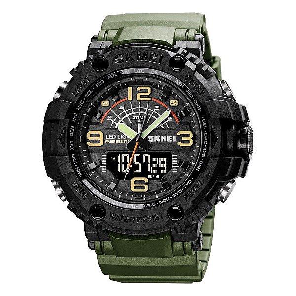 Relógio Militar Esporte À Prova de Choque 50m