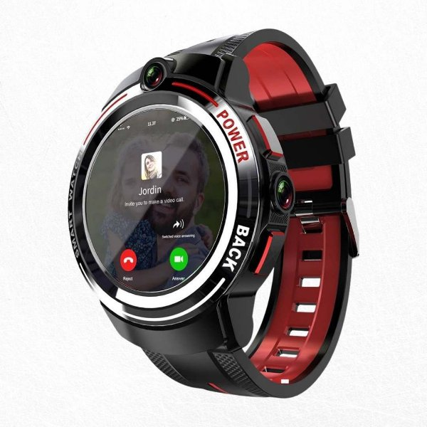 Relógio Inteligente Android 7.1 Duas Câmeras Lokmat LOK02