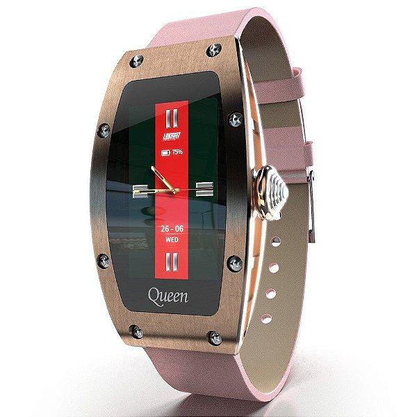 Relógio Inteligente Feminino Lokmat Rainha
