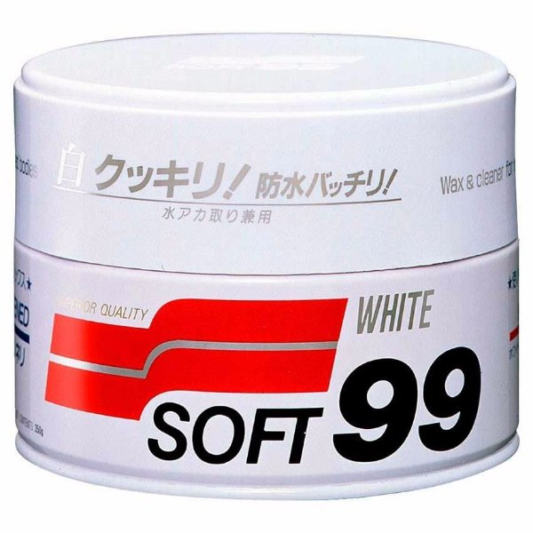 Cera De Carnaúba White Wax Cleaner Soft99 350G