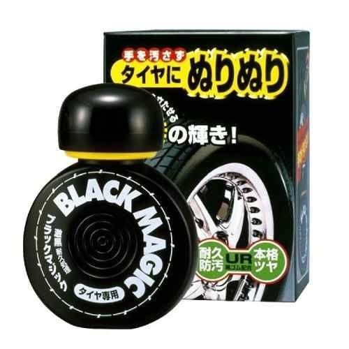 Pretinho Para Pneu Black Magic Cleaner Longa Duração 150ML Soft99