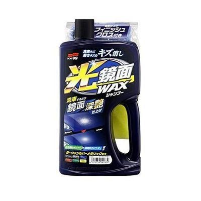 Shampoo com Cera Preenche Riscos Para Carro de Cor Escura 700ML Soft99