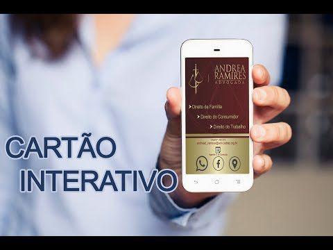 Cartão de Visita Virtual Digital Interativo