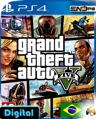 Grand Theft Auto V - Gta V - Ps4