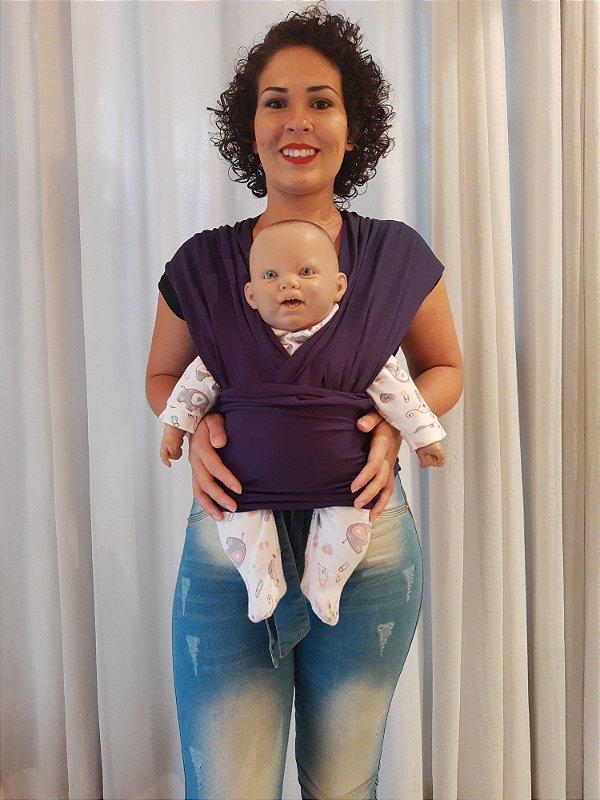 BABY SLING PRETO