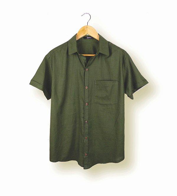 Camisa Sálvia