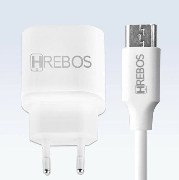 Cabo + Carregador Turbo Dual USB 3.1A