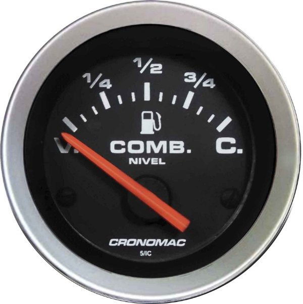 Indicador Nível de Combustível ø52mm 099 Sport | Cronomac
