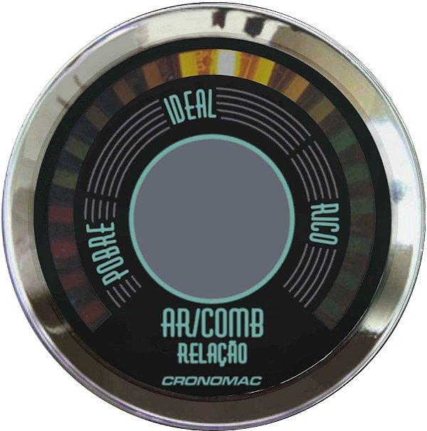 Hallmeter 52mm Fusca Verde   Cronomac