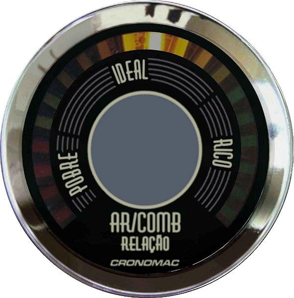 Hallmeter 52mm Fusca Bege | Cronomac