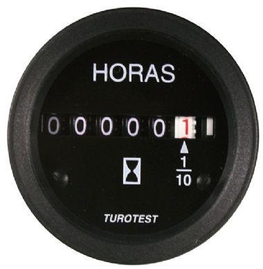 Horimetro 52mm 12V/24V Universal