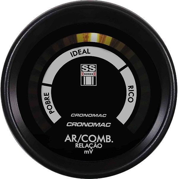 Hallmeter 60mm Faixa Opala SS Series   Cronomac