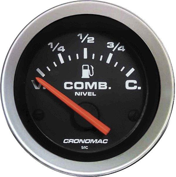 Indicador Nível de Combustível ø52mm 475 Sport  Cronomac