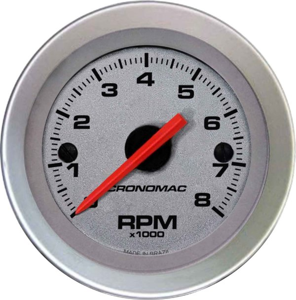 Contagiro 8000RPM ø52mm 2/4/6/8 Cil Racing | Cronomac